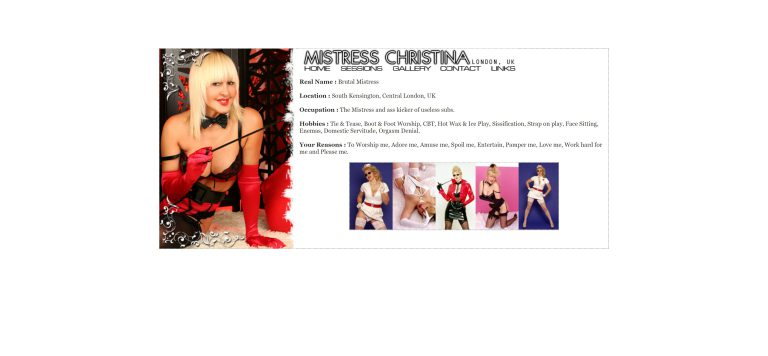 Mistress Christina